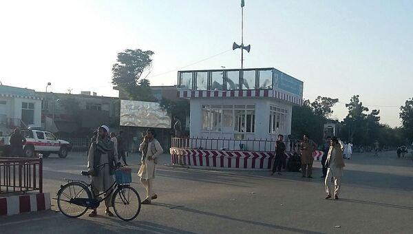 Главная площадь города Кундуз, Афганистан. Архивное фото