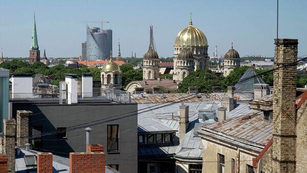 Рига. Латвия. Архивное фото