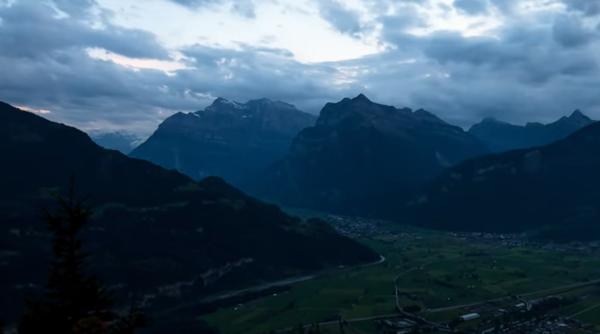Величие и спокойствие швейцарских Альп