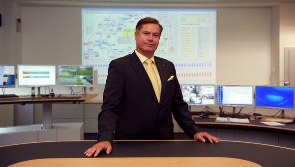 Председатель Глобального газового центра, генеральный директор швейцарской компании GazNat Рене Бауц