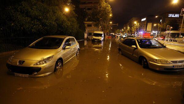 Наводнение на юге Франции, 3 октября 2015