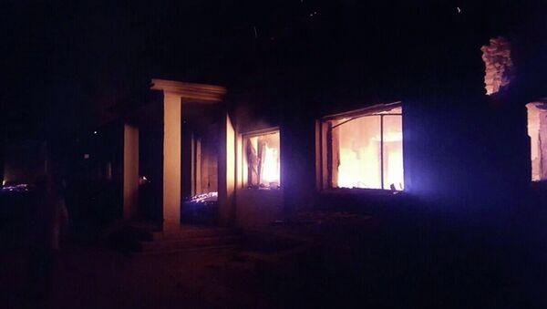 Госпиталь организации Врачи без границ в афганском городе Кундуз подвергшийся авиаудару