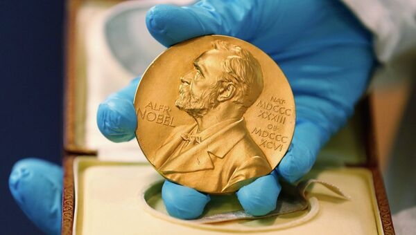Медаль лауреата Нобелевской премии