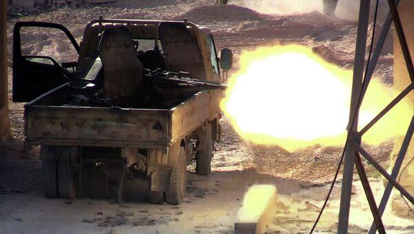Боевые действия в Сирии. Архивное фото