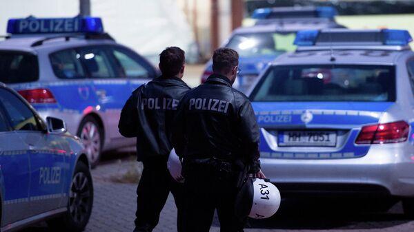 Немецкая полиция. Архивное фото