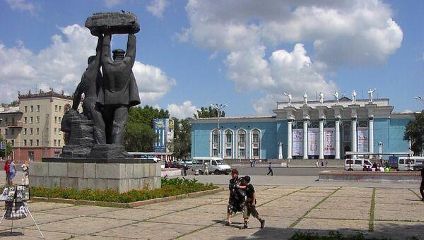 Караганда, Казахстан. Архивное фото