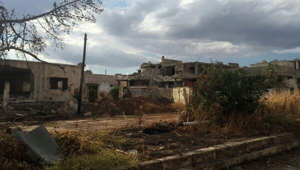 Сирийская армия перешла в наступление против боевиков ИГ на севере провинции Хама. Архивное фото