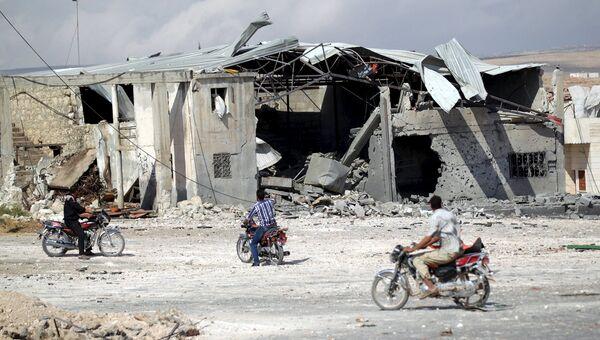 Ситуация в Сирии. Октябрь 2015 года