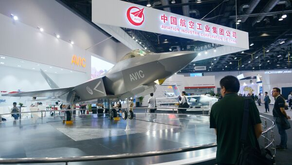 Модель китайского J-31