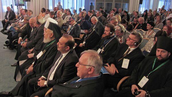 Религиозные деятели в числе участников 13-го Родосского форума Диалог цивилизаций