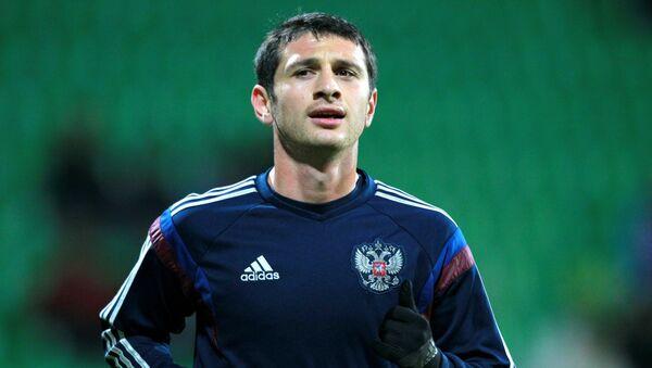 Игрок России Алан Дзагоев. Архивное фото