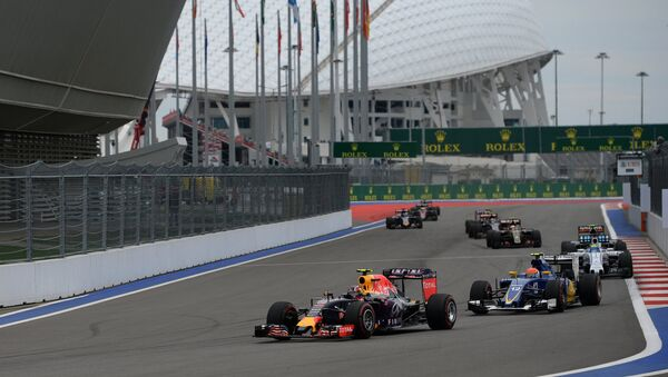Автоспорт. Формула -1. Гран-при России. Гонка. Архивное фото