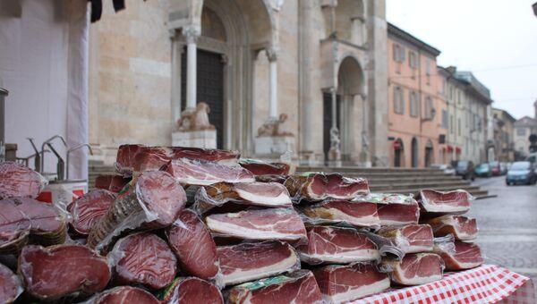 На рынке в итальянском городе Модена