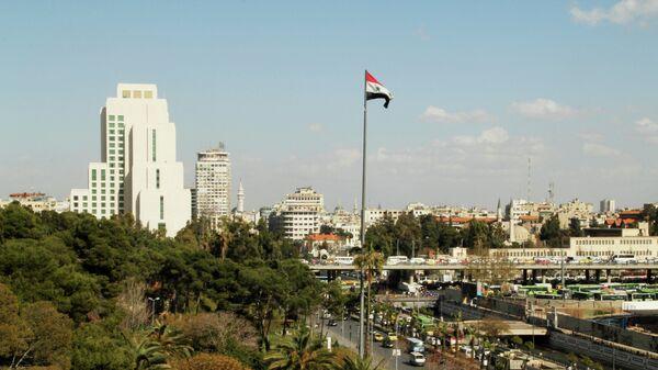 Город Дамаск в Сирии
