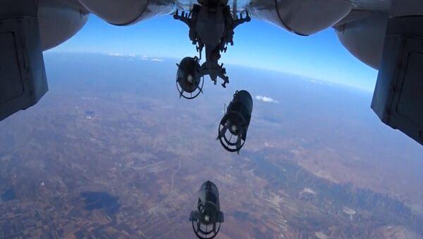 Нанесение точечных авиаударов ВКС России. Архивное фото