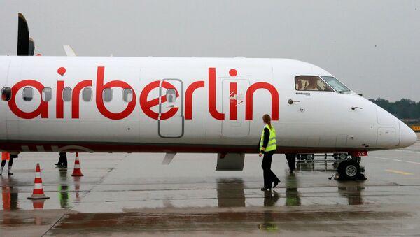 Самолет компании Air Berlin. Архивное фото