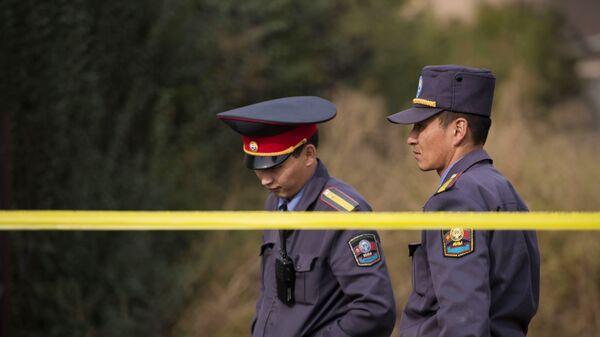 Операция правоохранительных органов Киргизии. Архивное фото