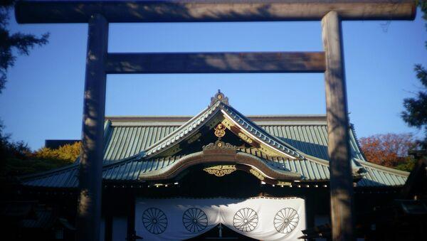 Милитаристский храм Ясукуни в Токио. Архивное фото