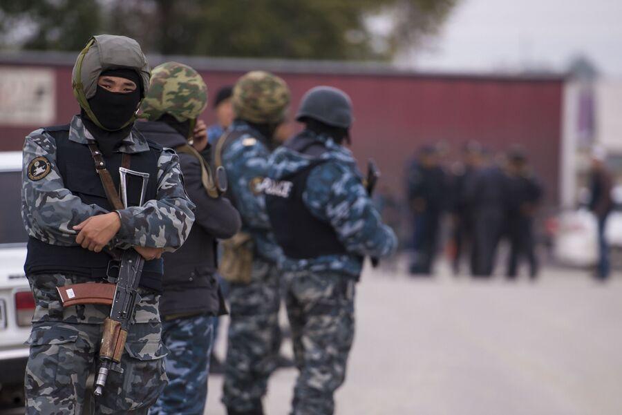 Операция правоохранительных органов Киргизии в Бишкеке