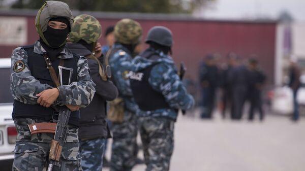 Правоохранительные органы Киргизии. Архивное фото