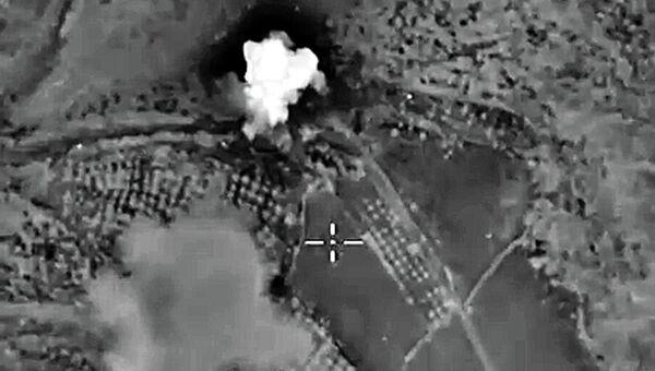 Авиаудары ВКС России по позициям ИГ в Сирии. Архивное фото