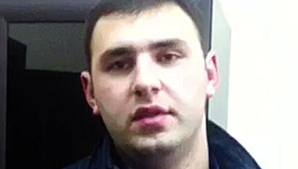 Допрос Шота Элизбарашвили в качестве подозреваемого в пособничестве в убийстве