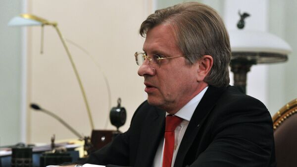 Генеральный директор Аэрофлота Виталий Савельев. Архивное фото
