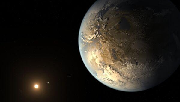 Kepler-186f - потенциальный кандидат на засеивание жизнью