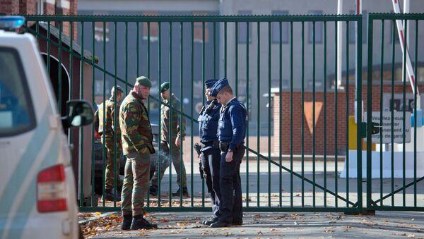 Полиция под Намюром, Бельгия. Архивное фото
