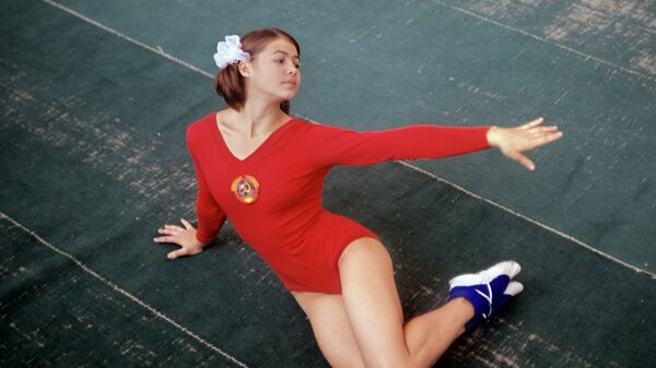 Чемпионка Олимпийских игр 1968 года по спортивной гимнастике, заслуженный мастер спорта СССР Людмила Турищева