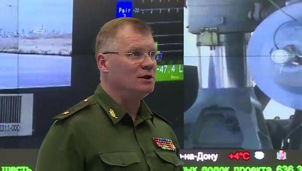 Официальный представитель Минобороны РФ генерал-майор Игорь Конашенков. Архивное фото
