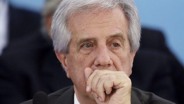 Президент Уругвая Табаре Васкес. Архивное фото