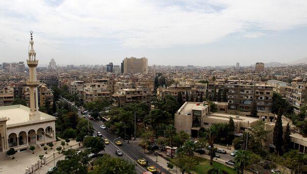 Столица Сирийской Арабской Республики город Дамаск. Архивное фото