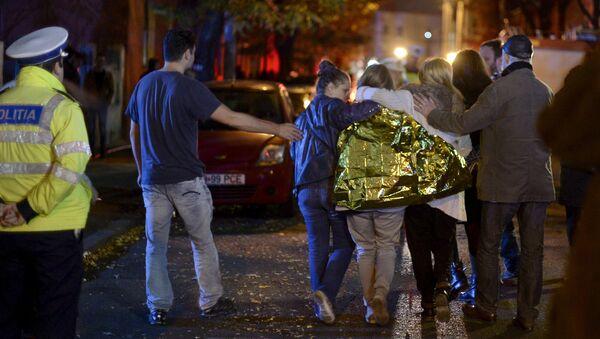 Пострадавшие при пожаре в ночном клубе Бухареста