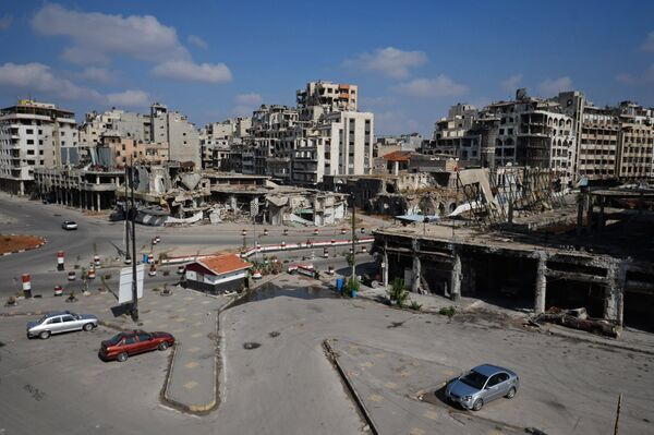 Боевые действия у сирийского города Хомс