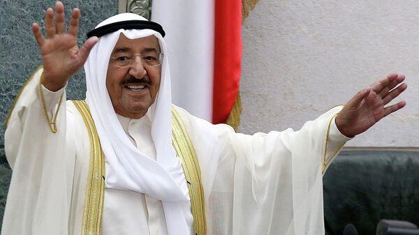 Эмир Кувейта Сабах аль-Ахмед аль-Джабер ас-Сабах. Архивное фото