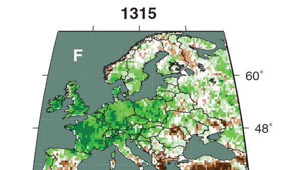Великий потоп в Европе в 1315 году