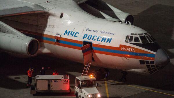 Багаж покидающих Египет российских туристов, доставленный спецбортом МЧС России. Архивное фото