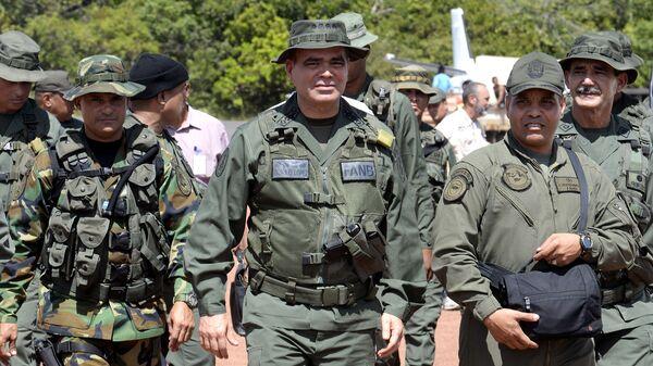 Министр обороны Венесуэлы Владимир Падрино