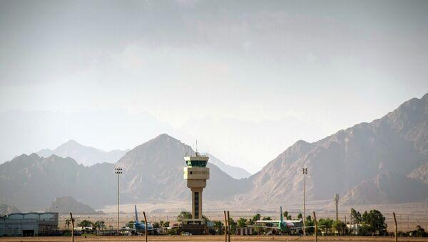 Международный аэропорт в Шарм-эль-Шейх. Архивное фото
