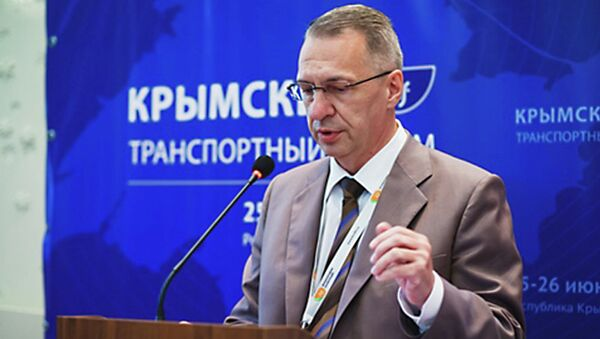 Министр транспорта Крыма Андрей Безсалов