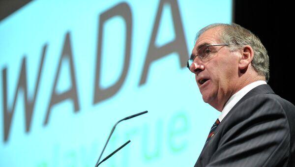 Президент Всемирного антидопингового агентства Джон Фейхи