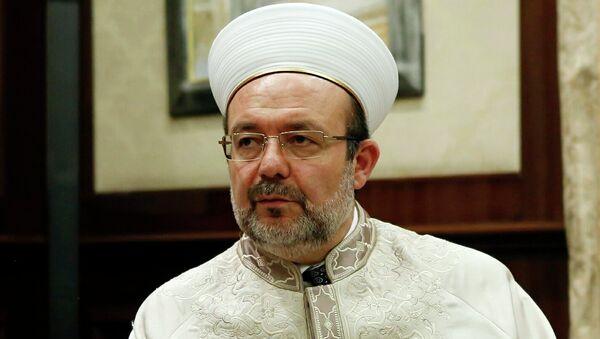 Глава Управления по делам религии Турции Мехмет Гермез. Архивное фото