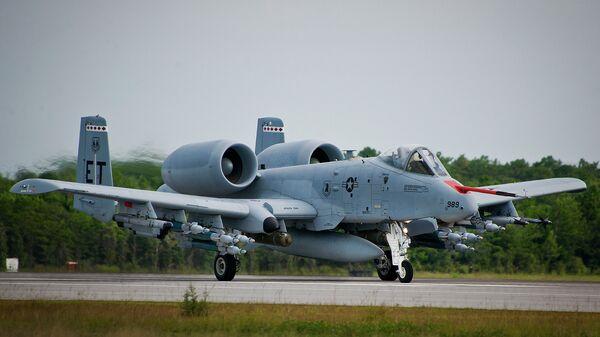 Американский штурмовик A-10 Thunderbolt II (A-10 Тандерболт II)