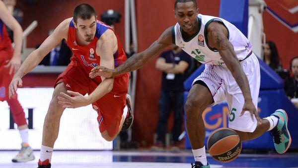 Баскетбол. Евролига. Архивное фото
