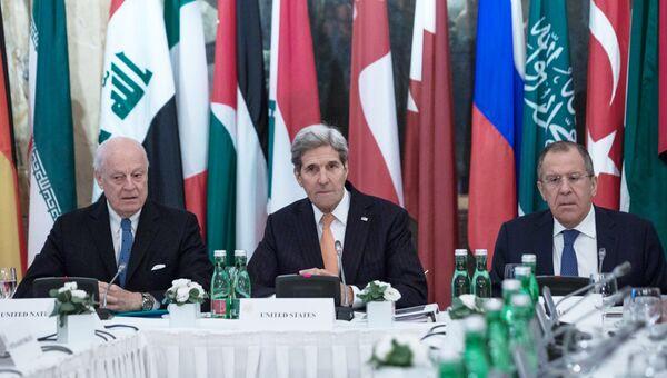Встреча по вопросам сирийского урегулирования в Вене
