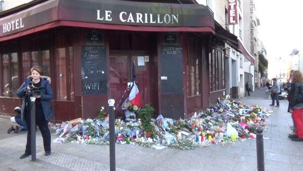 Улицы и районы Парижа в первые дни после серии терактов