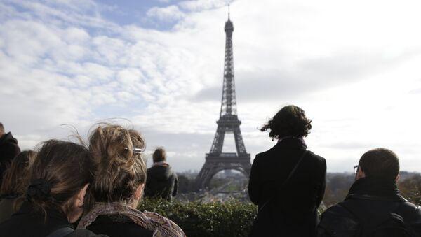 Париж. Архивиное фото.