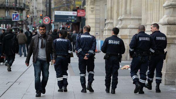 Полицейские на Северном вокзале Парижа. Архивное фото