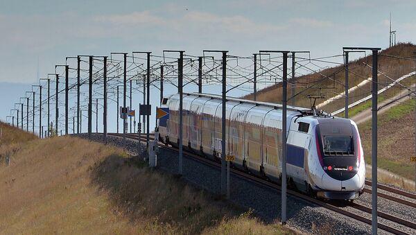 Поезд во Франции. Архивное фото